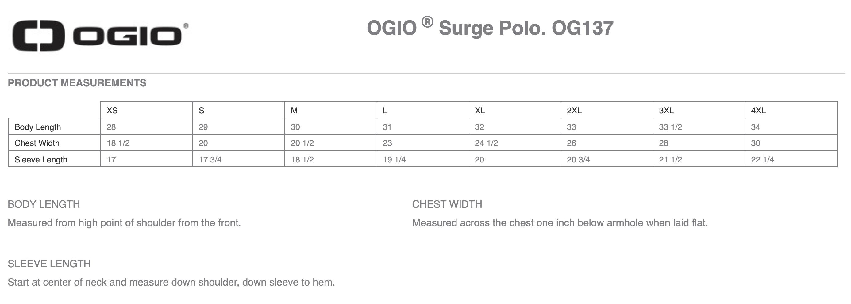 SHRM-SCP Black Ogio Surge Polo