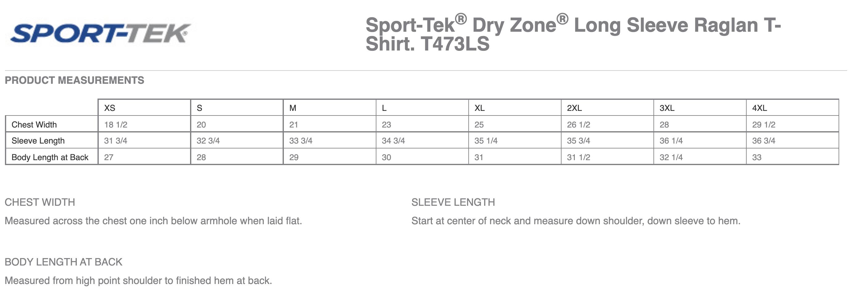 I Love HR Navy Long Sleeve Performance T-Shirt